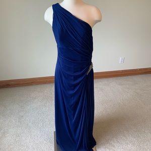 Alex Evenings royal blue gown